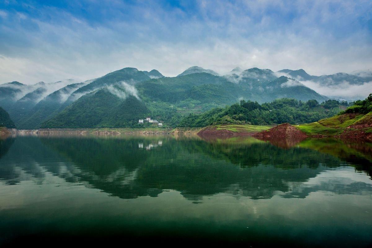摄影作品:《深山里的风景画》 作者:yfsk相机:canon